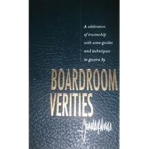 Boardroom Verities