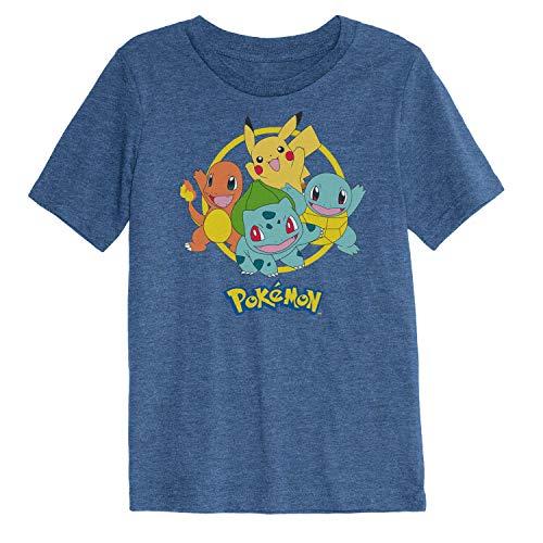 Pokemon T Shirt (Jumping Beans Boys 4-12 Pokemon Starting Graphic Tee)