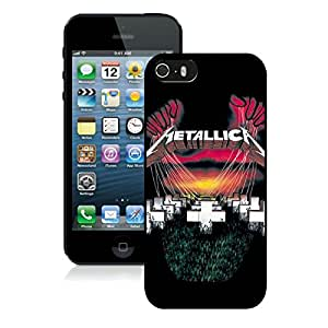 Metallica Master Of Puppets Black Fashion Customize Design iPhone 5 5S Phone Case
