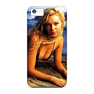 Iphone 5c Hard Back With Bumper Silicone Gel Tpu Case Cover Laura Prepon