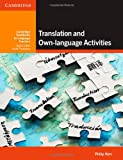 Translation and Own-Language Activities, Philip Kerr, 1107645786