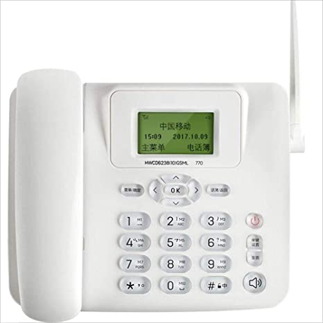 SAN_X Teléfono Retro Teléfono inalámbrico Multifunción ...