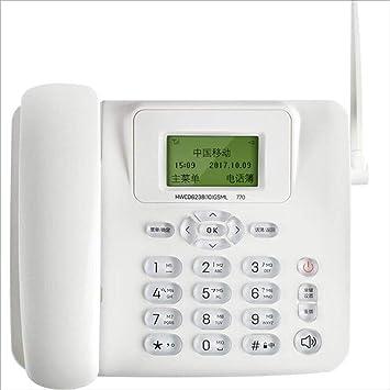 XIA Teléfono inalámbrico Multifunción Enchufe Tarjeta SIM ...