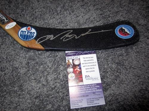 Autographed Mark Messier Hockey Stick Hall of Fame w COA JSA Certified Autographed NHL Sticks