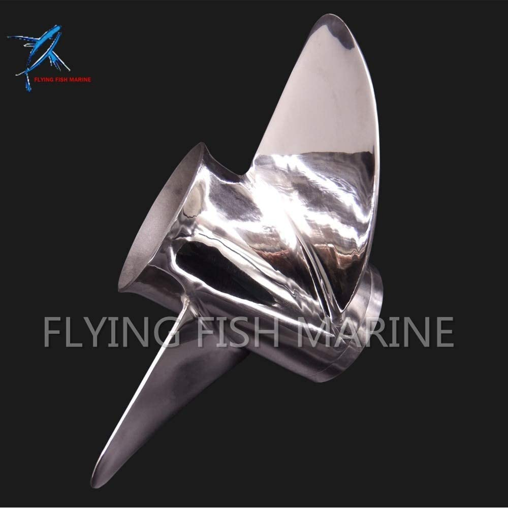 688-45970-03-98 Boat Motor Stainless Steel Propeller 13x19-K for Yamaha 60HP