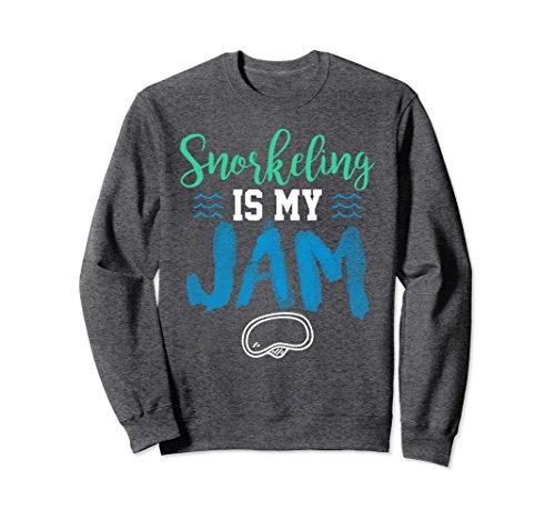Unisex Snorkeling Is My JAM Best Funny Snorkel Gear Sweater 2XL Dark - Rescue Dive Gear