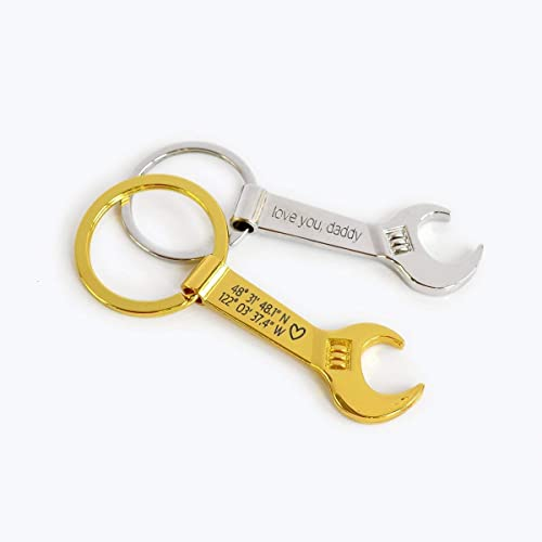 Amazon.com: Personalized Wrench Bottle Opener Keychain, Personalized Bottle Opener, Gift for Mechanic: Handmade