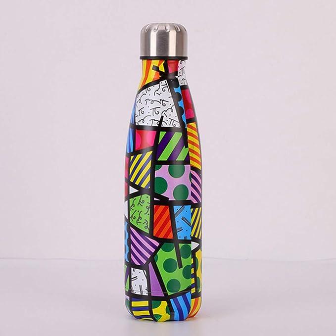 SHOPFF Botella De Agua Deportiva Frasco De Botella De Agua ...
