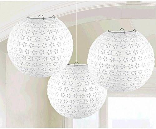 Eyelet Paper Lanterns Amscan 241582.08