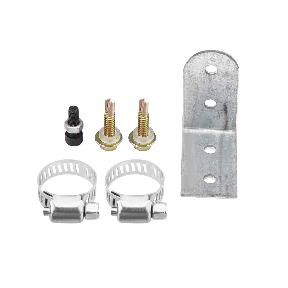 Senyar 24mm//0.94inch Exhaust Pipe Silencer,Stainless Steel Muffler Clamps Bracket for Diesel Heater
