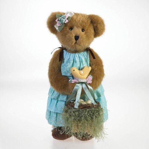 [New Enesco Brooke Nestling with Lil' Chirp Sleeveless Dress Girl Bear Gift] (Lil Teddy Bear Costume)
