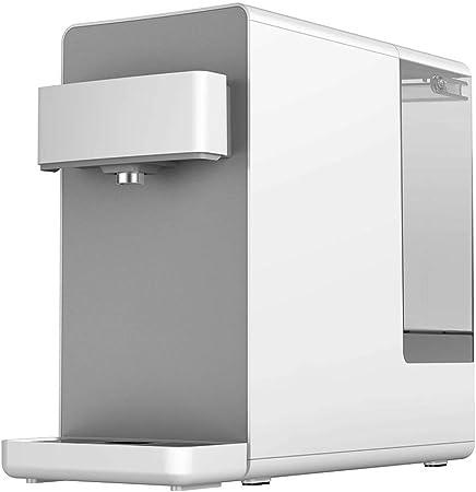 KOSGK Dispensadores Agua Caliente Purificador Agua Inteligente para El Hogar PequeñO Dispensador Agua Escritorio Filtro Agua, 4 Tipos Temperatura (Color: Blanco, TamañO: 46 * 20 * 39 Cm): Amazon.es