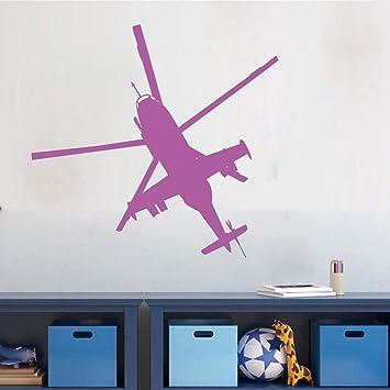 Adesivi murali elicotteri militari Decorazioni per la casa ...