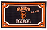 Team Sports America San Francisco Giants Embossed Floor Mat, 18 x 30 inches