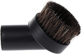 GROOMY 32mm Mixed Horse Hair Spazzola Tonda per Pulizia Accessori per aspirapolvere, Accessorio per aspirapolvere