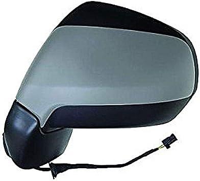 Specchio Specchietto Retrovisore Sinistro Nero 5 Pin Termico Elettrico 24763