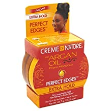 Creme Of Nature Argan Oil Perfect Edges Extra Hold 2.25oz (2 Pack)