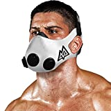 Training Mask 2.0 [White] Elevation, Fitness Mask, Workout Mask, Running Mask, Breathing Mask, Resistance Mask, Elevation Mask, Cardio Mask, Endurance Mask For Fitness
