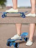 MEKETEC Skateboards Complete Mini Cruiser Retro