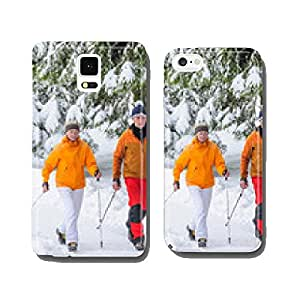 Walking im Winter cell phone cover case Samsung S6