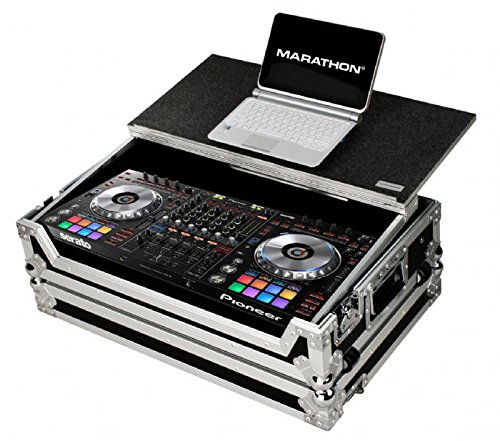 - MARATHON FLIGHT ROAD CASE MA-DDJSZWLT Case-to-Hold 1 x Pioneer DDJ SZ SERATO DJ USB Music Controller + Laptop Shelf & WHEELS
