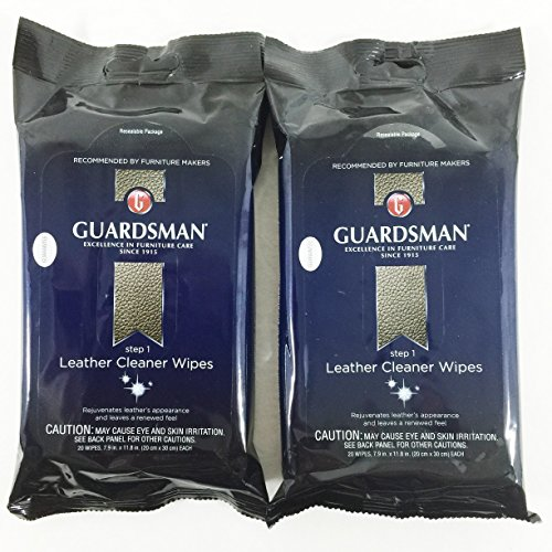 Guardsman Leather Cleaner Wipes count