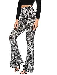 MakeMeChic - Pantalón Corto para Mujer, diseño de Campana elástica