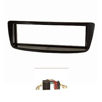 Embellecedor de radio (Set) Citroen C1, Peugeot 107, negro: Amazon.es: Electrónica