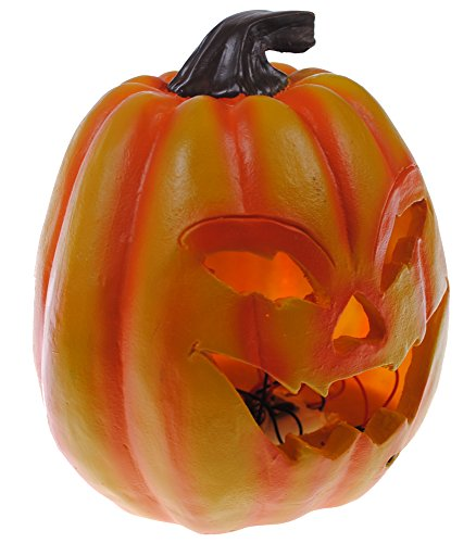 Shop4Omni Halloween Decoration with Motion Activated Lights and Sound (Pumpkin) -