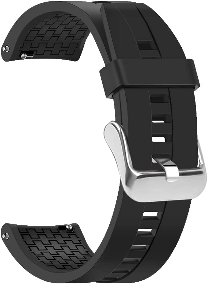 Amazon.com: Coholl Compatible with Huawei Watch GT Band,22mm ...
