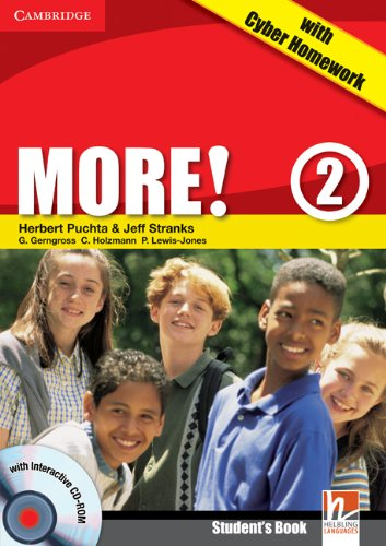 More! Level 2 Turkish Edition Student's Book with Cd-rom with Cyber Homework, Workbook with Audio Cd and Extra Practice Book Pack pdf epub