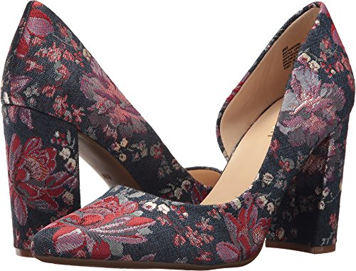 discount outlet locations Nine West Women's ANISA9X Synthetic Pump Blue Multi Fabric cheap sale top quality sale marketable uTSI7B