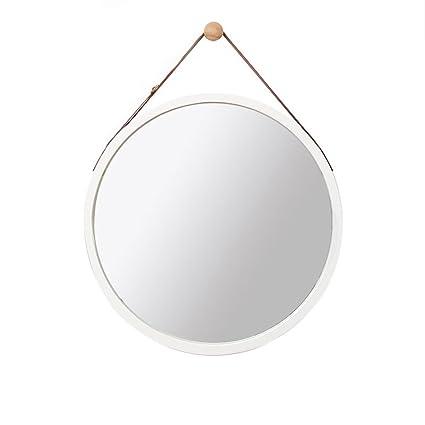 Specchio Tondo Da Parete.Mirror Specchio Da Bagno Specchio Rotondo Da Parete Nordico