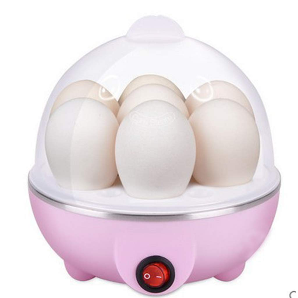 Formemory Electric Egg Cooker, 7 Egg Capacity for Hard or Soft Boiled Eggs Single Layer (Pink)