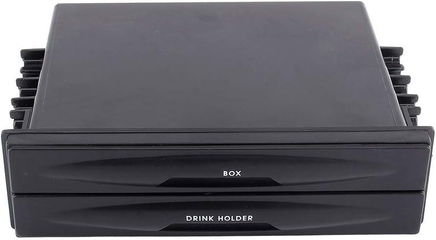 Vobor Autoradio Aufbewahrungsbox Getränkehalter Auto Getränkehalter Universal Auto Auto Double Din Radio Tasche Getränkehalter Aufbewahrungsbox Auto