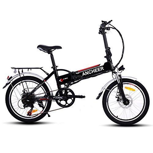 Folding Electric Bike with 7 Speed Shifter