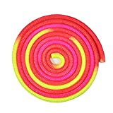 5 Colors Solid Durable Gymnastics Arts Rope Fitness Exercise Sports Training Rope (COLORFUL)