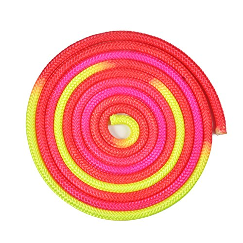 5 Colors Solid Durable Gymnastics Arts Rope Fitness Exercise Sports Training Rope (COLORFUL) by Yosoo