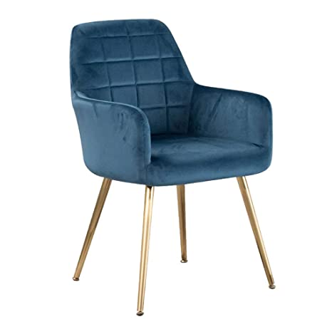 Amazon.com: Silla moderna, silla de hierro forjado, silla de ...