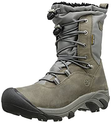 Amazon.com | KEEN Women's Wilma Lace Snow Boot, Magnet