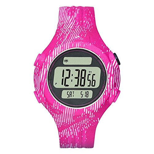 Adidas Performance ADP3187 Questra Midsize Matte Pink Digital Watch
