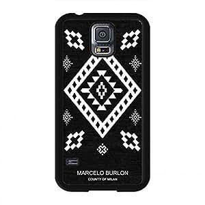 Funda For Samsung Galaxy S5 Marcelo Burlon Funda, Full Protection Samsung Galaxy S5 Funda
