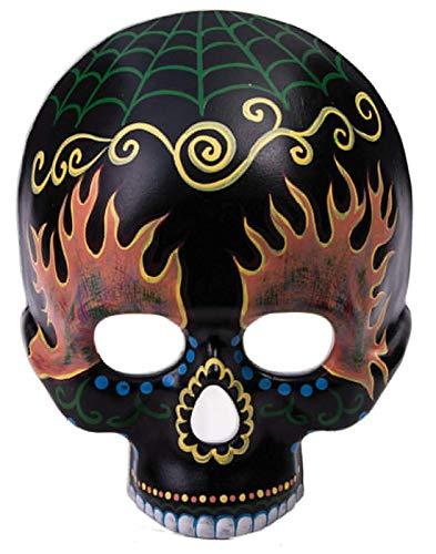 Forum Novelties Day of The Dead Black Skull