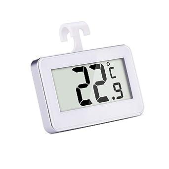 Mudder Refrigerador Digital Inalámbrico/Termómetro del Congelador,Termómetro Digital para FrigoríFicos,Termómetro Digital
