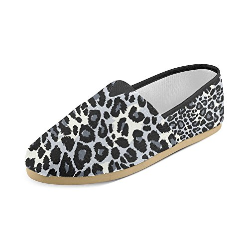 Shoes Loafers Women gray InterestPrint dog Pattern pirate Men Leopard Casual hat a wearing for PqAYnf8A