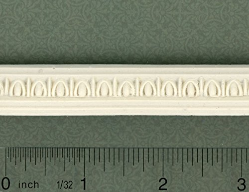 Dollhouse Miniature Ornate Crown Molding by Unique Miniatures