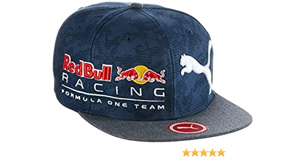 Red Bull Racing Puma - Gorra Ajustable, Unisex, Mütze RBR New Block Snapback, Negro (Total Eclipse), Talla única: Amazon.es: Deportes y aire libre