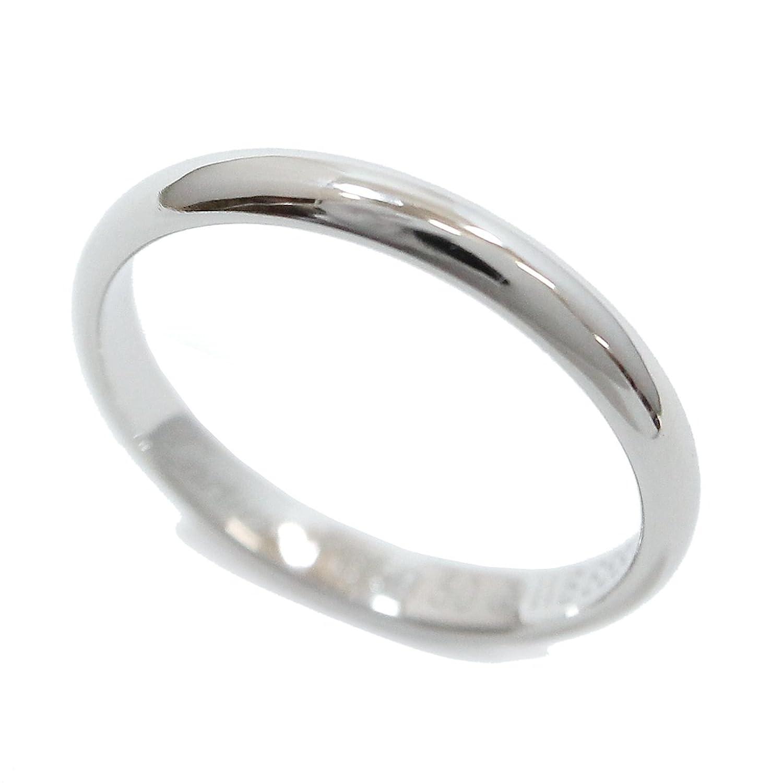 カルティエ Cartier クラシック バンド リング #50 幅2.5mm PT950 プラチナ 指輪 【証明書付き】【中古】 90048250 B07D56GJ69