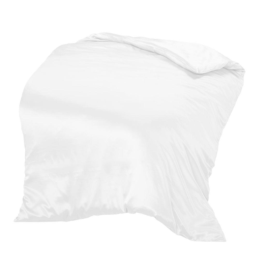 THXSILK Pure Silk Duvet Cover, Organic Crib Bedding-Ultra Soft, Smooth, Hypoallergenic - 100% Top Grade Mulberry Silk, 35'' x 44'', Off White