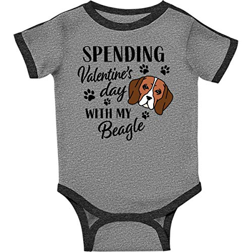 inktastic - Spending Infant Creeper 24 Months Ringer Heather and Smoke 335f3